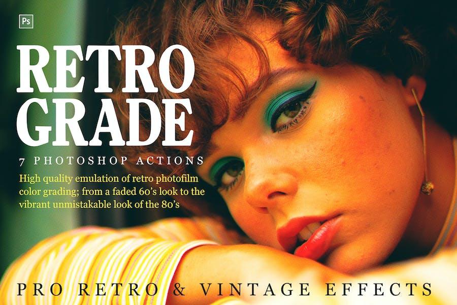 Retrograde, Retro and Vintage Actions