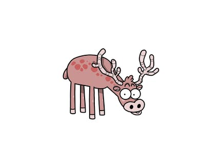 Feral Deer - Character RG