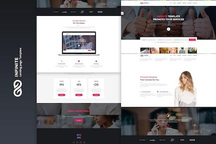 Infinite - Page de destination Marketing Numérique