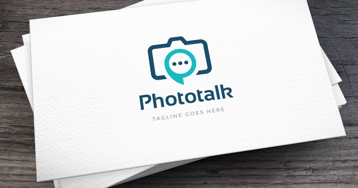 Phototalk Logo Template by empativo
