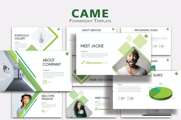 Thumbnail for CAME - Шаблоны PowerPoint