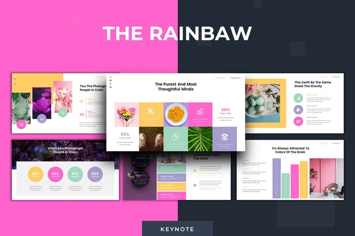 Thumbnail for The Rainbaw - Keynote Template