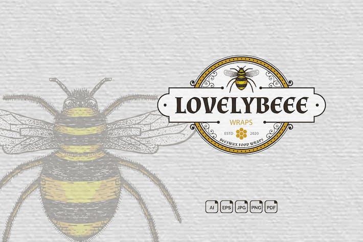 Thumbnail for Bee Vintage Handdrawn Logo
