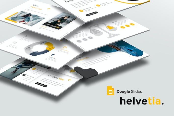 Thumbnail for Helvetia - Google Slide Template