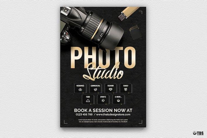 Cover Image For Photo Studio Flyer Template V1