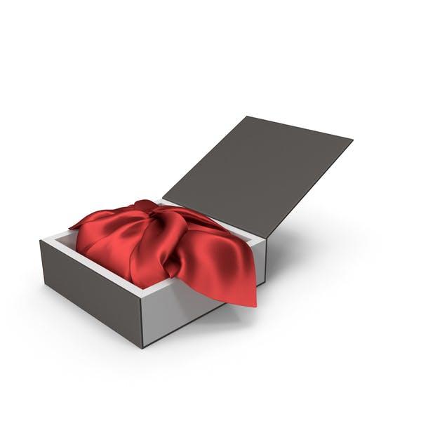 Упаковка красной ткани Подарочная коробка для упаковки