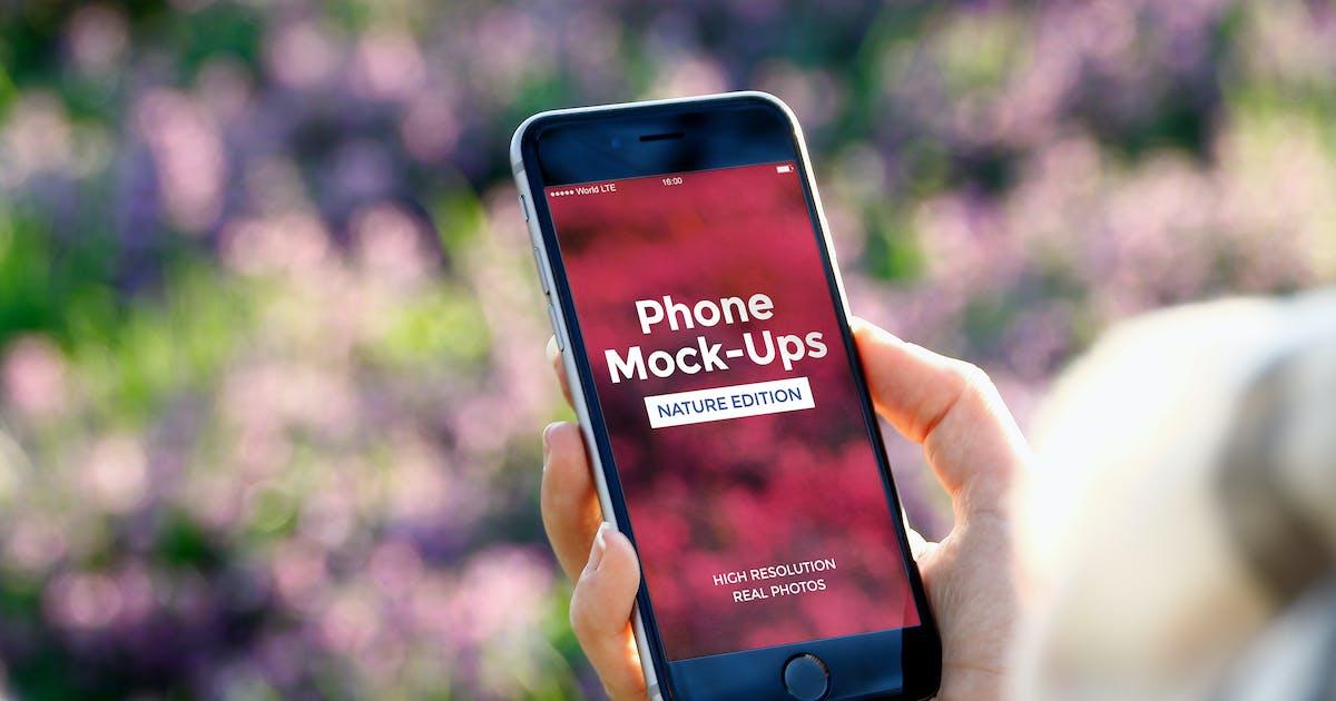 Download Phone Mock-Ups by visconbiz