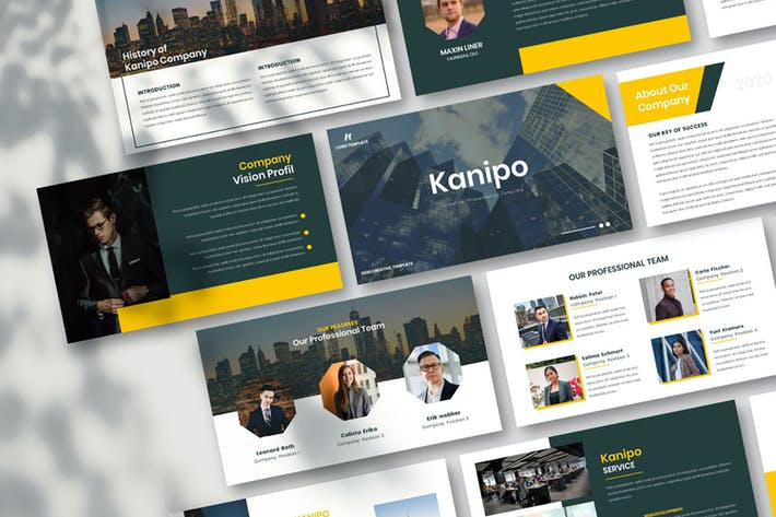 Thumbnail for Kanipo-Business Keynote Template