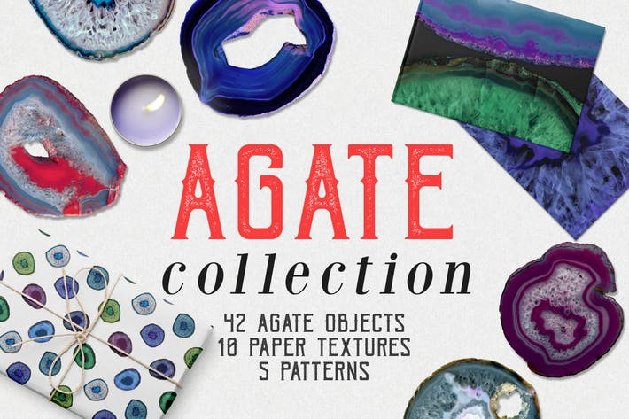 Cover Image For Agate Collection