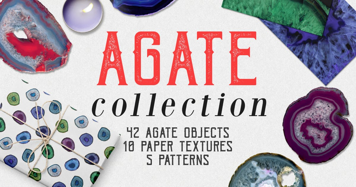 Download Agate Collection by FreezeronMedia