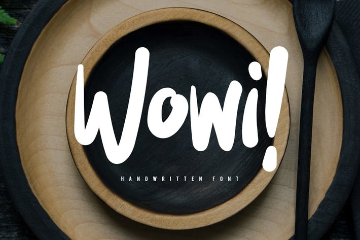 Thumbnail for Wowi Typeface