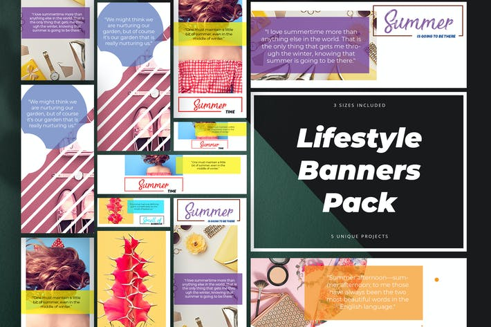 Thumbnail for Lifestyle Banner Pack