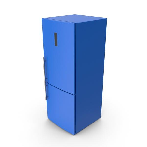 Frigorífico Azul
