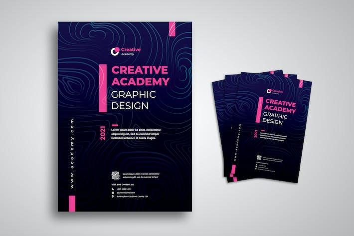 Creative Academy Flyer