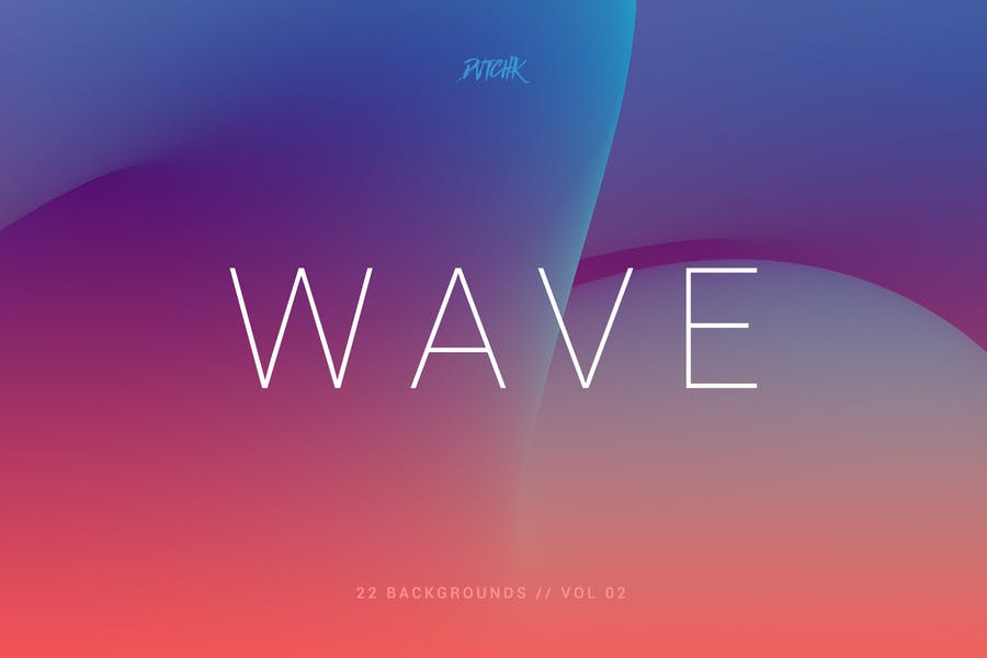 Wave   Smooth Backgrounds   Vol. 02