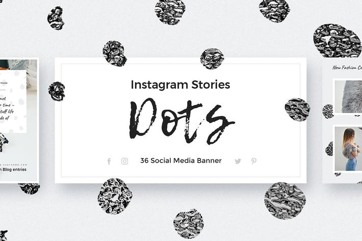 Thumbnail for Dots - Instagram Stories Pack