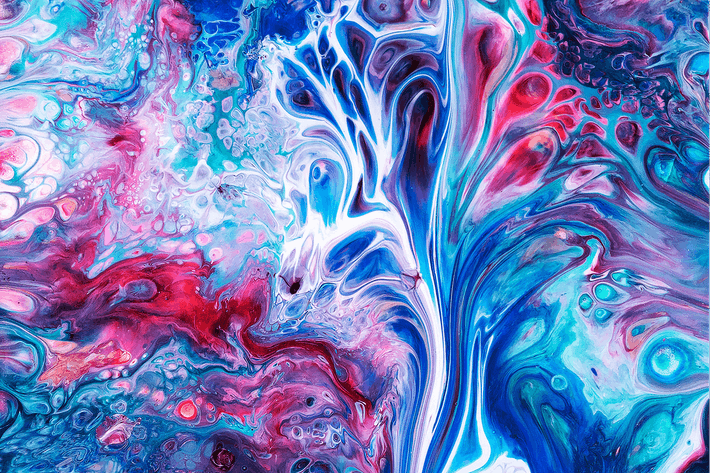 Thumbnail for Liquid Marbling Painting Background