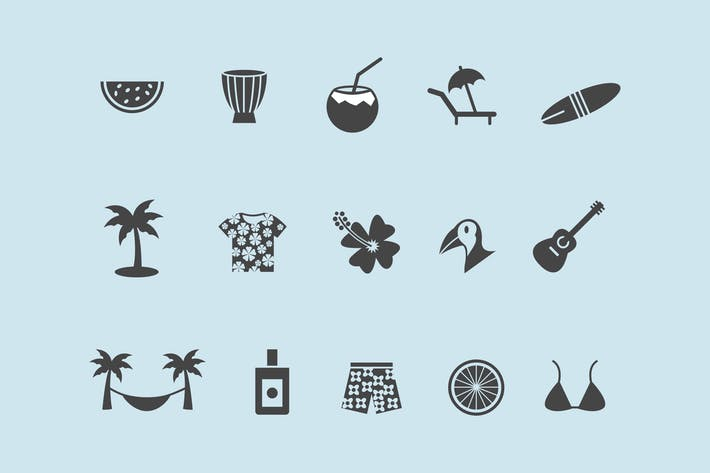 Thumbnail for 15 Tropical Icons