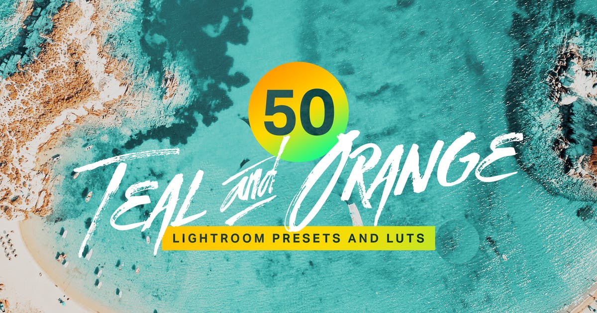 Download 50 Teal and Orange Lightroom Presets and LUTs by sparklestock