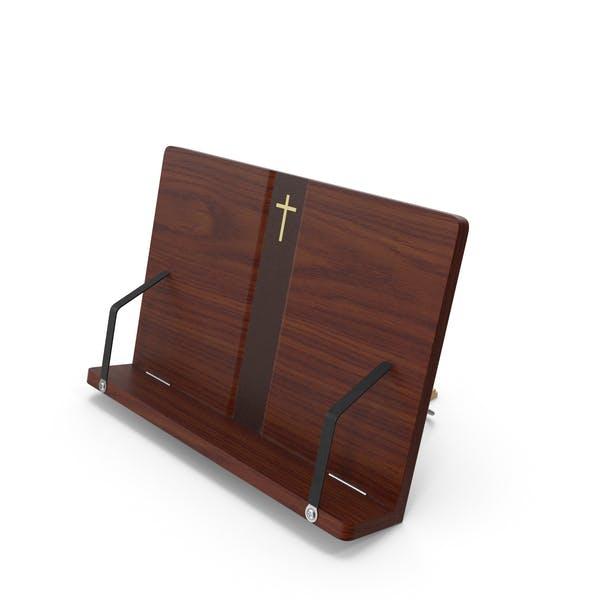 Tragbarer Lesebuchständer aus Holz