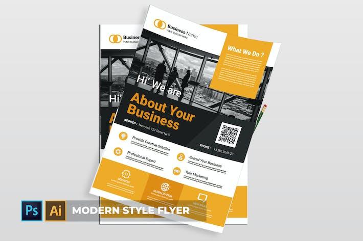 Thumbnail for Modern Style | Flyer