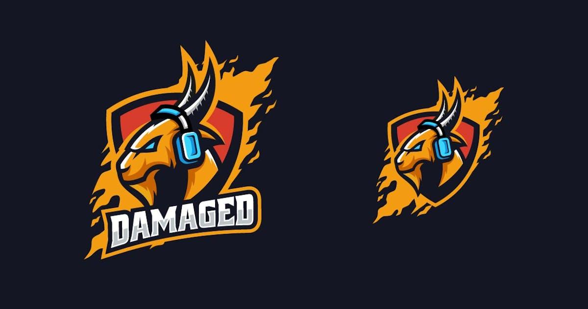 Download Goat Head Sports and E-sports Style Logo by ivan_artnivora