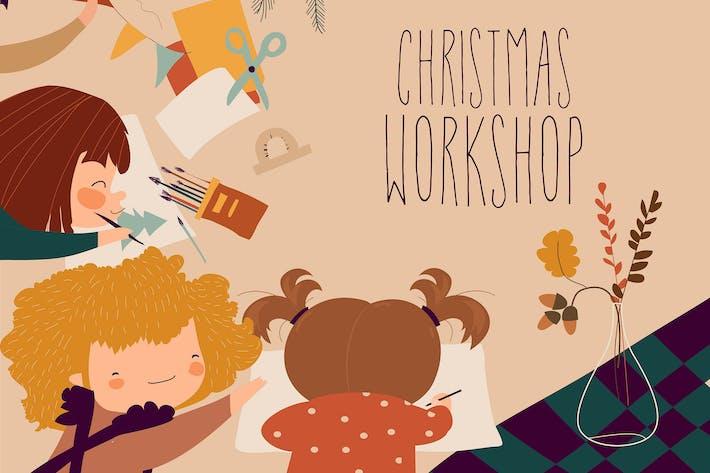 Thumbnail for Processus créatif avec la peinture de l'enfant et les enfants