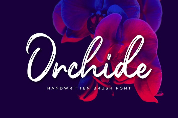 Thumbnail for Orchide - Pincel manuscrito