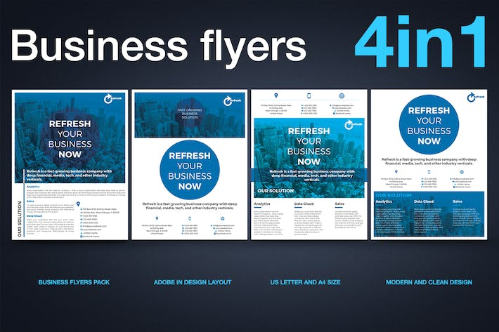Thumbnail for Multipurpose Business Flyer Pack v.1
