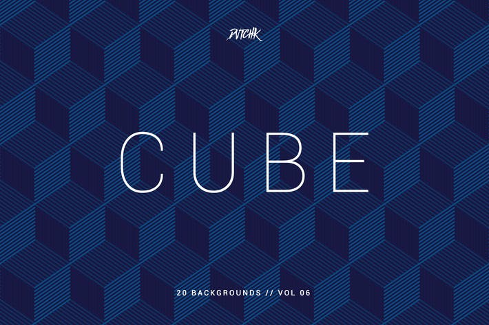 Cover Image For Cube| Seamless Geometric Backgrounds | Vol. 06