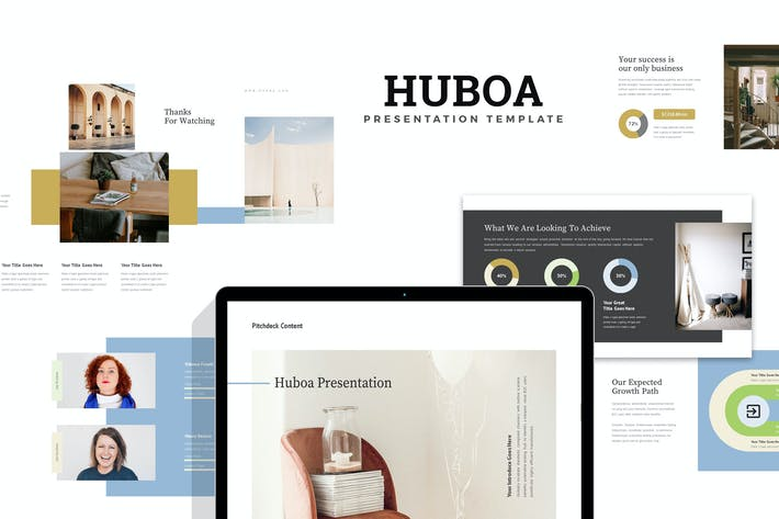 Thumbnail for Huboa : Craft Business Pitch Deck Keynote