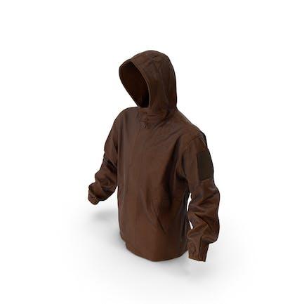 Military Brown Jacke Hood