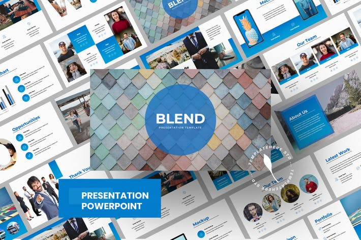 Thumbnail for Blend Business Powerpoint