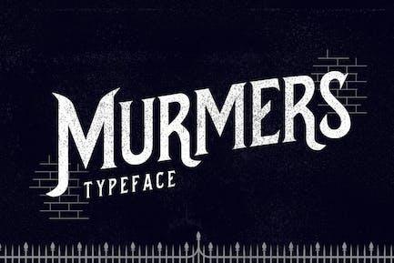 Murmers Typeface