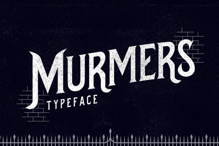 Thumbnail for Murmers Typeface