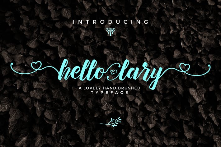 Cover Image For Hello Lary Font