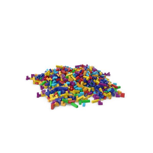 Spielzeug-Bausteine Hill