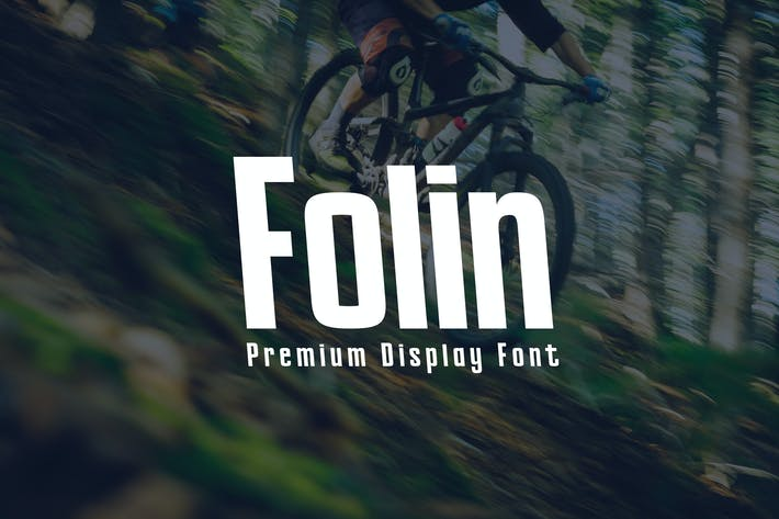 Thumbnail for Folin - Display Font