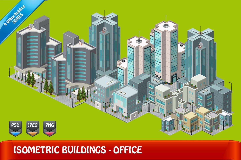 2D Isometric Game Asset - City Build Vol 1 by Rometheme on