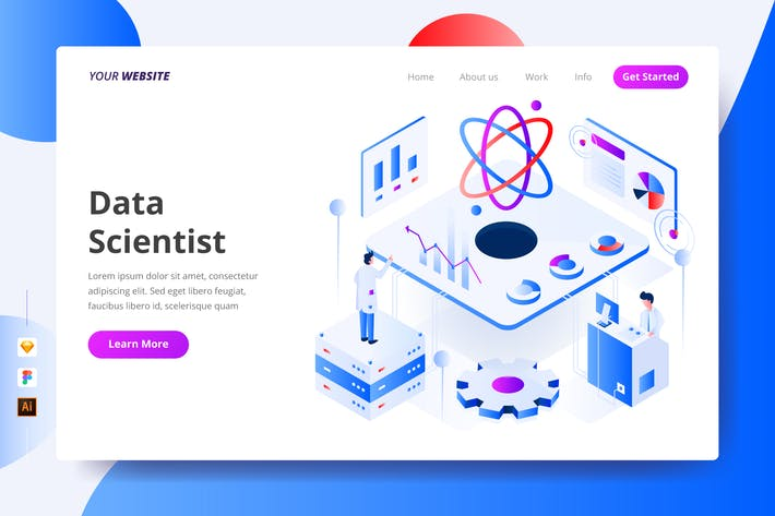 Thumbnail for Data Scientist - Landing Page