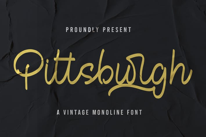 Pittsburgh - Fuente Monoline Vintage