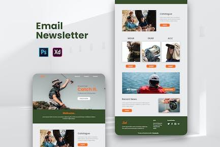Fisherman Email Newsletter