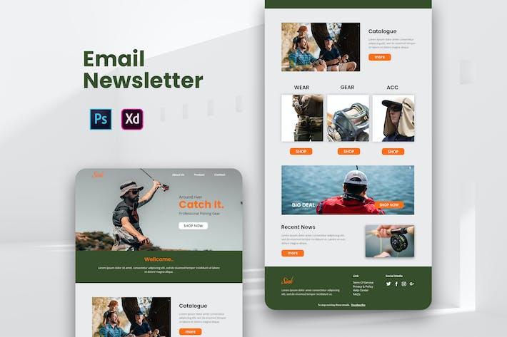 Thumbnail for Fisherman Email Newsletter