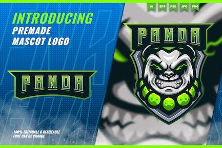 Panda Monk - Mascot Esport Logo Template