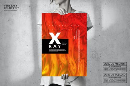 X-Ray Music Event Party - Big Poster Design
