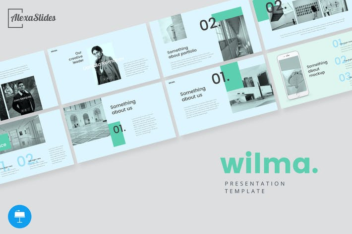 Thumbnail for Wilma - Keynote Presentation Template