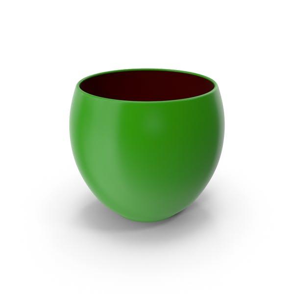 Keramiktopf Grün