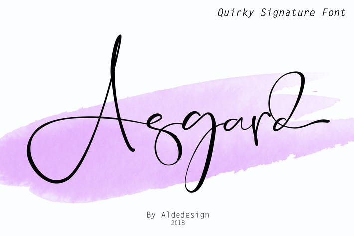 Thumbnail for Asgard - Fuente Signature