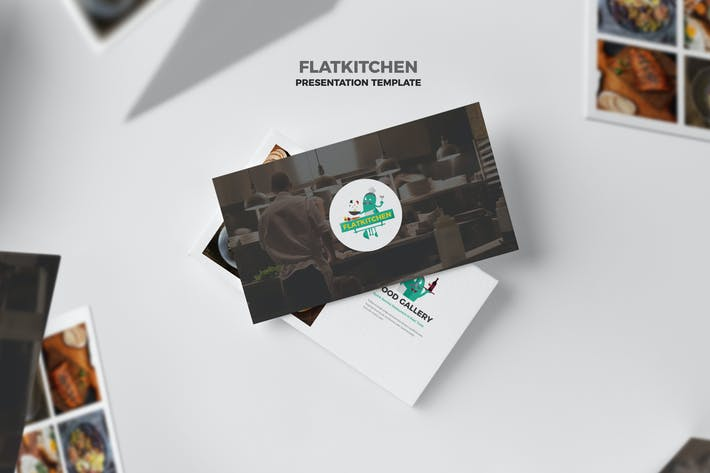 Thumbnail for Flatkitchen : Food and Restaurant Keynote