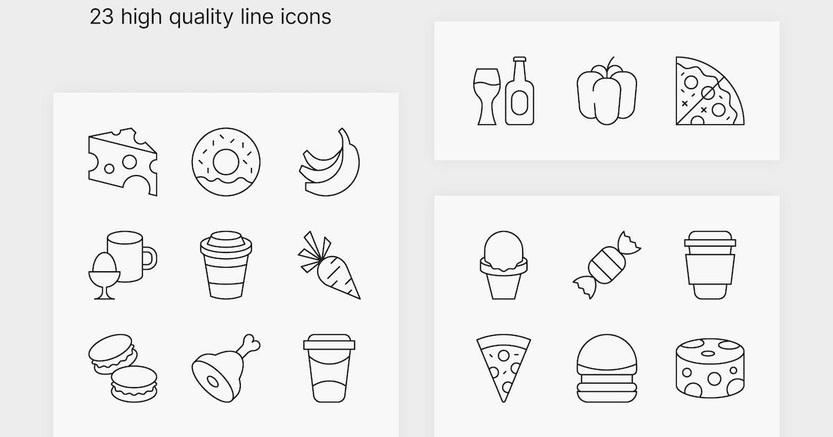 Download Food and Drink Icons #2 by polshindanil